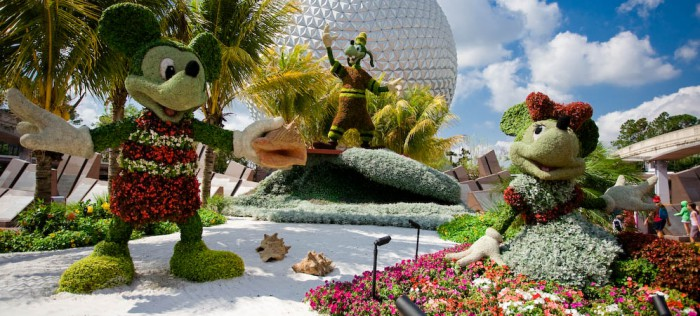 What to See at the EpcotR International Flower and Garden