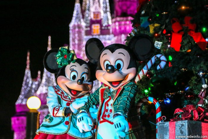 the end of the year is a great time to visit the magic kingdom temperatures are cooler than the high heat of the summer crowds are smaller - Mickeys Merry Christmas Tickets