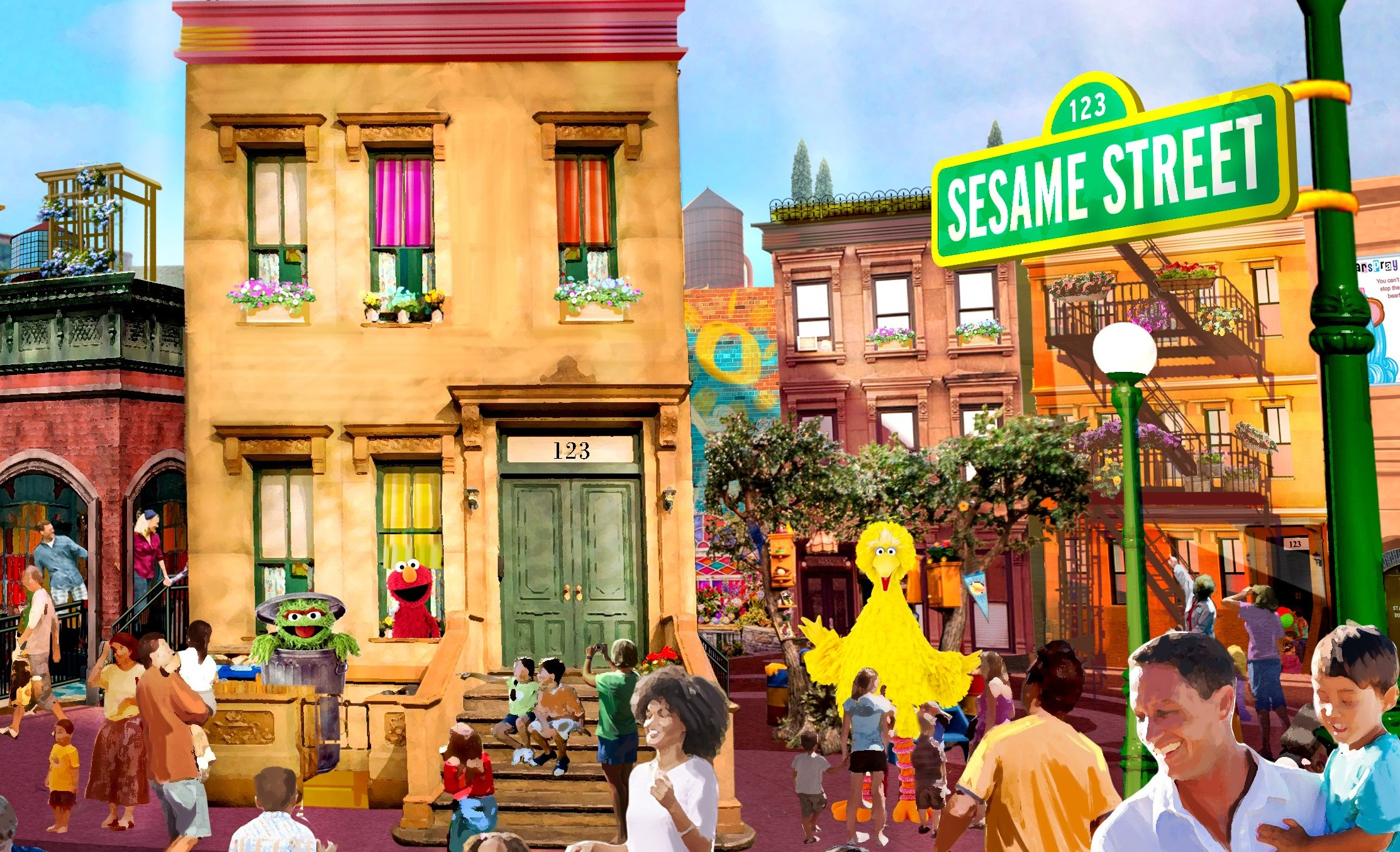 Picture of Interactive Play Areas for Sesame Street in Orlando